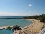 Vanaf hotel Rubin naar het strand