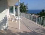 Villa met adembenemend  zee-uitzicht  700 meters van het strand